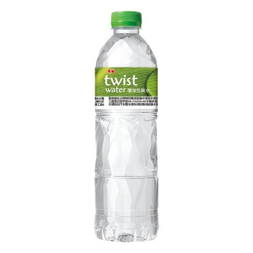 泰山 Twist Water 環保包裝水 600ml