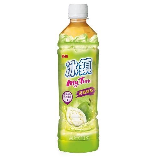泰山 冰鎮芭樂綠茶