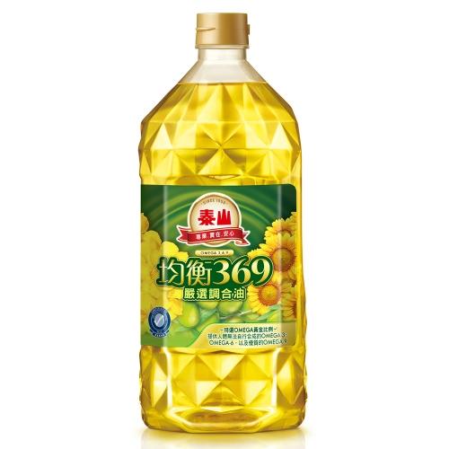 泰山 均衡369嚴選調合油 2L