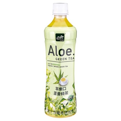 Tropical 萃樂口蘆薈綠茶