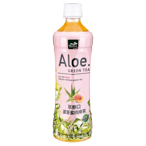 Tropical 萃樂口蘆薈蜜桃綠茶