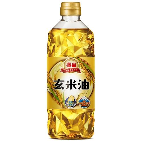 泰山 玄米油 600ml