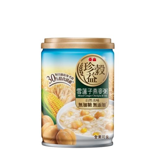 泰山 珍穀益雪蓮子燕麥粥