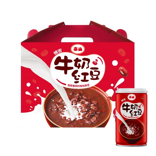 泰山 綿密牛奶紅豆 禮盒款